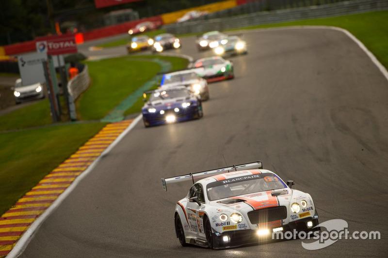 #30 Team Parker Racing, Bentley Continental GT3: Chris Harris, Derek Pierce, Carl Rosenblad, David P