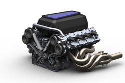 Un moteur V8 LMP2