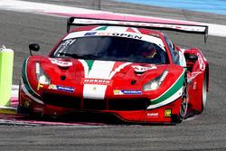 #51 AF Corse Ferrari 488 GT3: Piergiuseppe Perazzini, Marco Cioci
