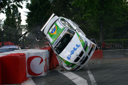 Augusto Farfus, BMW Team Germany, BMW 320si, incidente