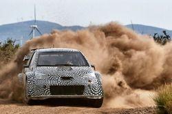 Toyota Yaris WRC, test di sviluppo