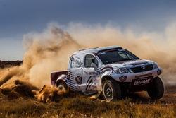 #216 Toyota: Khalifa Al-Attiyah, Stéphane Prévot