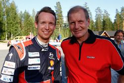 Kevin Abbring, Hyundai Motorsport with Juha Kankkunen