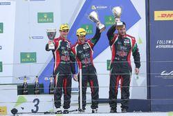 LM P2: second place Ricardo Gonzalez, Filipe Albuquerque, Bruno Senna, RGR Sport by Morand