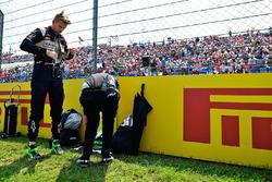 Nico Hulkenberg, Sahara Force India F1 sur la grille