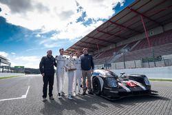 Presentazione del Tourist Trophy da Silverstone alla #2 Porsche Team Porsche 919 Hybrid: Romain Duma