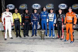 Truck Chase-Teilnehmer: Timothy Peters, Matt Crafton, Johnny Sauter, William Byron, Ben Kennedy, Dan