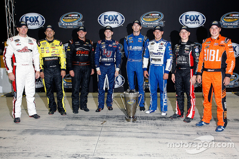 Chase contendientes: Timothy Peters, Red Horse Racing Toyota, Matt Crafton, ThorSport Racing Toyota,