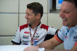 Lucio Cecchinello, Team LCR Honda Team Principal, Fausto Gresini, Aprilia Gresini Racing Team Team P