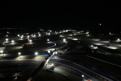Night action on the Circuit of the Americas
