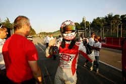 Alberto Viberti, BRC Racing Team festeggia la vittoria di Gara 1
