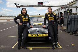 Renee Gracie, Simona De Silvestro, Harvey Norman Supergirls Nissan
