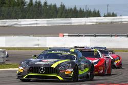 #85 HTP Motorsport, Mercedes-AMG GT3: Clemens Schmid, Jazeman Jaafar