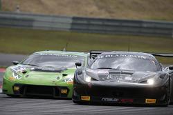 #66 Black Pearl Racing, Ferrari 458 Italia GT3: Steve Parrow, Christian Hook