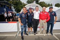 Sébastien Loeb, Stéphane Peterhansel, Bruno Famin, Vladimir Chagin, Cyril Despres, Peugeot Sport