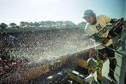 Ganador del campeonato Valentino Rossi