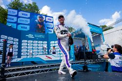 Podio: il terzo classificato Jean-Eric Vergne, DS Virgin Racing