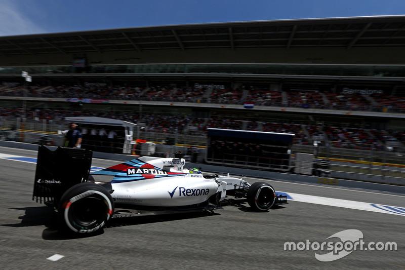 Quem não tem motivos para celebrar neste sábado é Felipe Massa.