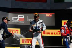 Alexander Albon, ART Grand Prix, Oscar Tunjo, Jenzer Motorsport et Antonio Fuoco, Trident