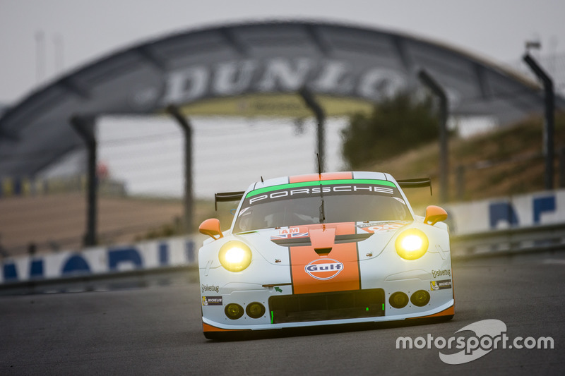 #86Gulf Racing Porsche 911 RSR: Майкл Вейнрайт, Адам Керролл та Бен Баркер