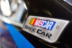 Etiqueta del coche de carreras NASCAR