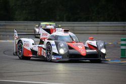 Стефан Сарразен, Майк Конвей, Камуи Кобаяши и Александр Вурц, #6 Toyota Racing Toyota TS050 Hybrid