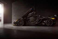 McLaren P1 GTR, James Hunt's 40th Anniversary edition