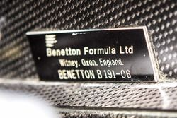 Benetton-Ford B191/191B Chasis no. B191-06