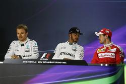 Conferencia de prensa: Lewis Hamilton, Mercedes AMG F1 Team, Nico Rosberg, Mercedes AMG F1 Team y Se