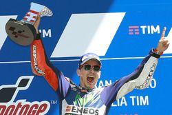 Победитель гонки - Хорхе Лоренсо, Yamaha Factory Racing