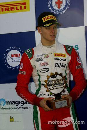 Il vincitore della gara Mick Schumacher, Prema Powerteam