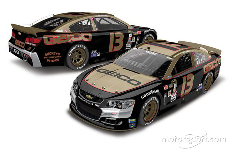 Throwback-Design von Casey Mears, Germain Racing, Chevrolet