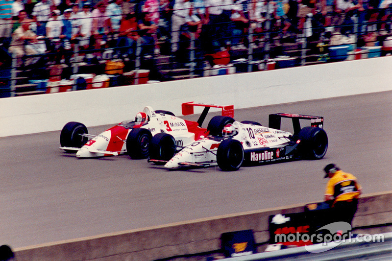 Rick Mears vs. Michael Andretti
