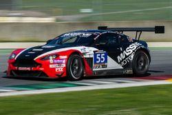 #55 Massive Motorsport, Aston Martin Vantage GT3: Casper Elgaard, Kristian Poulsen, Roland Poulsen,