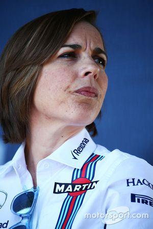 Claire Williams, Williams sub director del equipo