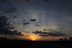 Il tramonto su Sebring