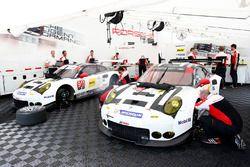 Área del equipo Porsche