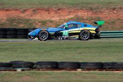 #80 Lone Star Racing, Dodge Viper GT3-R: Dan Knox, Mike Skeen