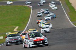 Гонка Renault Clio Cup Avia Racing