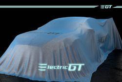La GT électrique sous une couverture
