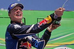 Il vincitore Jari-Matti Latvala, Volkswagen Motorsport