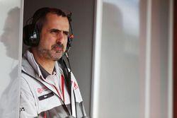 Ben Agathangelou, jefe del equipo de Haas F1 de la aerodinámica