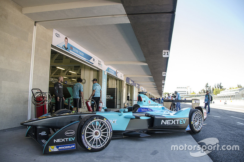 Das Auto von Oliver Turvey, NEXTEV TCR Formula E Team