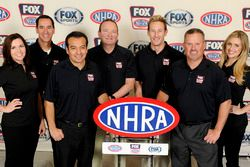 FOX Sports announcing team for 2016 NHRA season