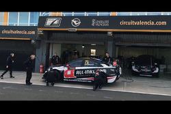 Münnich Motorsport, Test Chevrolet Cruze TC1 Valencia