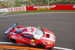 #49 Vicious Rumour Racing Ferrari 458 Italia GT3: Tony Defelice, Andrea Montermini, Benny Simonsen,