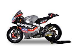 La moto di Marcel Schrötter e Sandro Cortese, Dynavolt Intact GP