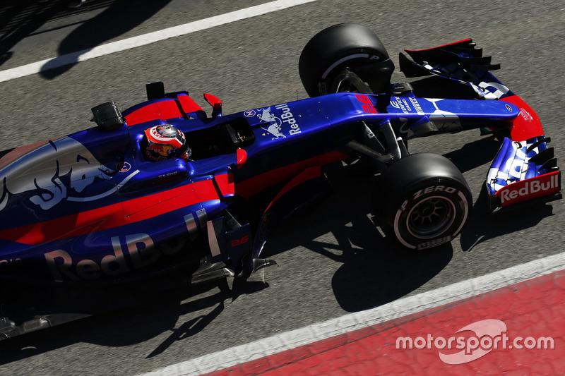 Mercredi : Daniil Kvyat, Toro Rosso