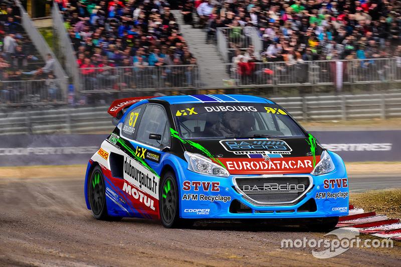 Jean-Baptiste Dubourg, DA Racing, Peugeot 208 WRX