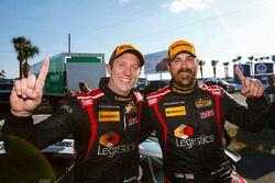 ST ganadores: #17 RS1 Porsche Cayman: Nick Galante, Spencer Pumpelly